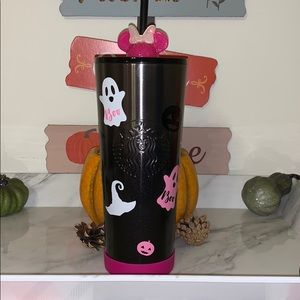 Starbucks pink spooky tumbler